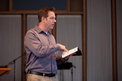 Markus Watson Preaching